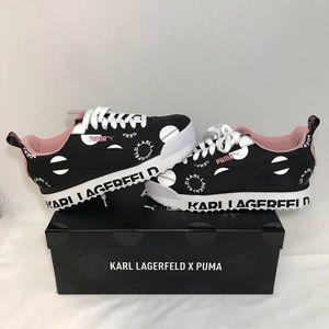 Karl Lagerfeld x Puma Roma Armor Polkadot Platform